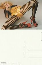 MELISSA IN STRIPES UNUSED COLOUR POSTCARD BY ERIC KROLL