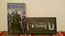 The Matrix/ La matrice  (VHS, 1999, ) Tape & sleeve FRENCH