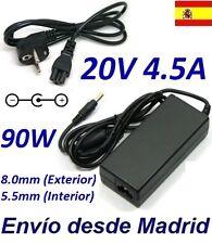 Cargador Corriente 20V 4.5A 90W IBM Lenovo ThinkPad W510 W700ds W701 W701ds