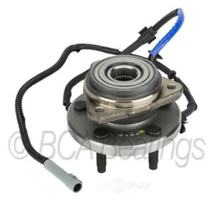 Wheel Bearing and Hub Assembly-4WD, 4-Wheel ABS Front BCA Bearing WE61554