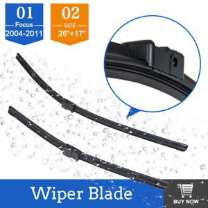 """For FORD FOCUS MK2 04-2011 BRAND NEW FRONT WINDSCREEN WIPER BLADES 26""""17"""""""
