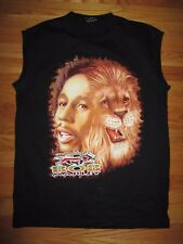 BOB MARLEY Color & B/W Lion (XL) Tank-Top Shirt