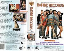 EMPIRE RECORDS - Renee Zellweger & Liv Tyler - VHS - PAL - NEW - Never played!!
