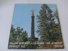 Willem Breuker Kollektief Live In Berlin SAJ-06 BV Haast 008 Free Jazz LP