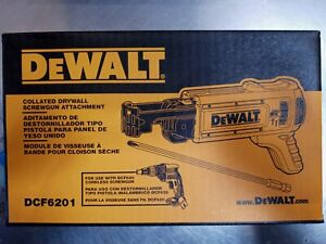 NEW Dewalt DCF6201 Collated Drywall Screwgun Magazine Attachment FOR DEWALT GUN
