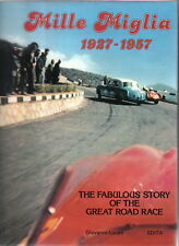 Mille Miglia 1927-1957 by Giovanni Lurani Pub. by Edita 1981 v.good with DW