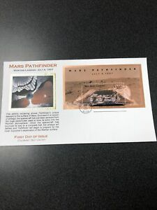 US FDC 3178 Mars Pathfinder Souvenir Sheet Colorano Silk Cachet First Day Cover