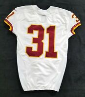 #31 No Name of Washington Redskins NFL Locker Room Game Issued Jersey
