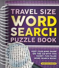 WORDSEARCH PUZZLE BOOK 216 PUZZLES - A5 PAPERBACK - BUY ANY 2 GET ANY 1 FREE (B)