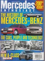 Mercedes Enthusiast June 2018 200th Issue The Cars, People & Technology