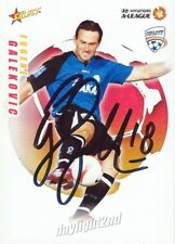 ✺Signed✺ 2008 2009 ADELAIDE UNITED A-League Card EUGENE GALEKOVIC