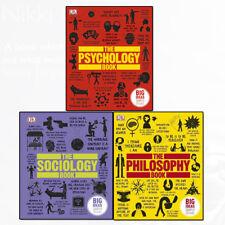 Big Ideas Simply Explained 3 Books Set Sociology, Philosophy, Psychology Book