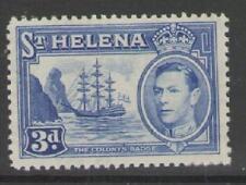ST.HELENA SG135 1938 3d BLUE MTD MINT