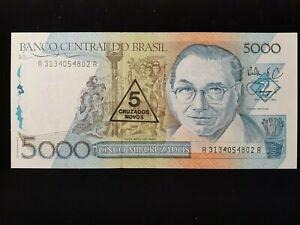 1989  5 CRUZADOS NOVO BRAZIL  P 217a
