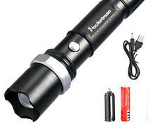Linterna Pocketman usb led FT17 bateria litio18650 incluida ENVIO 2 A 3 DIAS