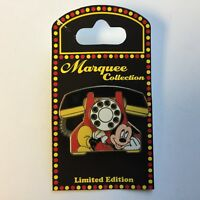 WDW - Marquee - Telephones - Mickey Mouse Limited Edition 1500 Disney Pin 73811