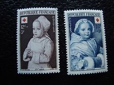 FRANCE - timbre yvert et tellier n° 914 915 n* (L1) stamp french