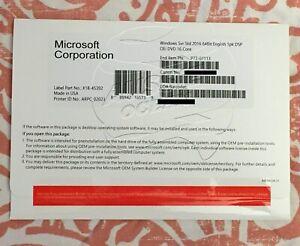 Microsoft Windows Server Standard 2016 64-bit DVD - P7307113