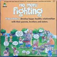 NO MORE FIGHTING helps children develop healthy relationships LP Mint- BR 529