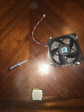 Intel Core I7-2600k (3.4GHZ) W/ Cooler Master Fan And Heatsink And Thermal Paste
