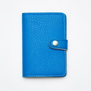 BLUE SEA SUMMER PASSPORT WALLET HOLD BAG CASE COVER TRAVEL LEATHER WOMEN MEN