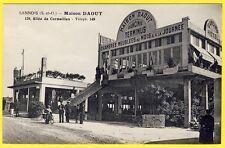 """cpa SANNOIS (Val d' Oise) Dancing Hôtel """" MAISON DAOUT """" 129 Allée de CORMEILLES"""