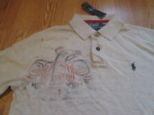 Polo Ralph Lauren native american distressed pony big Totem pole shirt NWT M