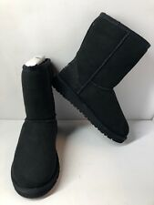 UGH Australia Boots For Girls Size 2 Classic II 1017703K/BLK *READ DESCRIPTION*