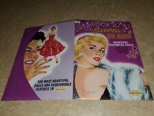 """Glamorous High Fashion"" Paper Dolls & ""Janet Leigh"" Paper Dolls! (Original)"