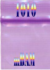 "100 PACK PURPLE 1010 Apple Ziplock Baggies 1.0x1.0"" Mini Bags Colored Zip Bags"