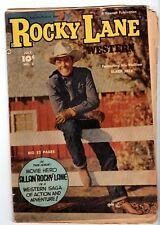 Rocky Lane Western #3, Very Good Condition*