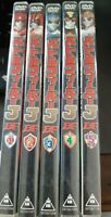 Super Sentai - Battle Fever J Vol.1-5 DVDs (complete series)