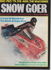 JAN 1979 SNOW GOER snowmobile magazine