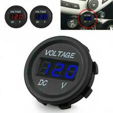 DC 12V  LED Panel Digital Voltage Volt Meter Display Voltmeter Motorcycle Car