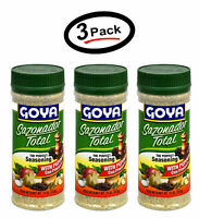 3 pack Goya Sazonador Total With Pepper-Con Pimienta, 11 Ounce Free shipping New