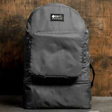 BAIT Lightweight Packable And Detachable Sneaker Nylon Backpack gray iron gray