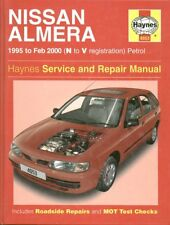 NISSAN ALMERA SALOON & HATCHBACK 1.4 1.6 PETROL '95-'00 SERVICE & REPAIR MANUAL