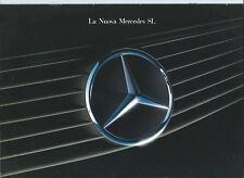 Mercedes Benz 300SL 24 500SL 1989 Brochure Depliant Excellent