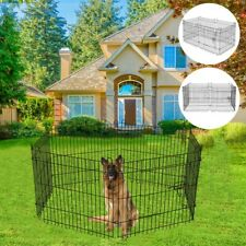Us Foldable Pet Exercise And Playpen Small To Medium Pet Dog Thai Isolation Door