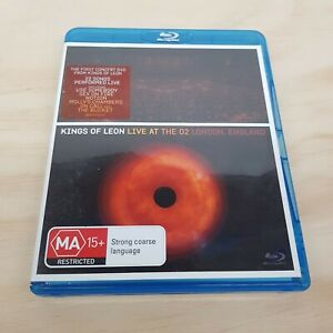 KINGS OF LEON LIVE AT THE O2 (2009) Blu ray (Tracked Post)