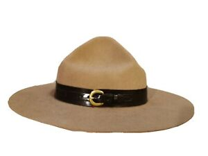 Drill Sergeant Hat Army Instructor Campaign State Trooper Military 7 1/8
