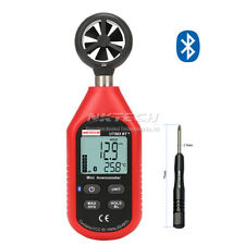 NKTECH UT363BT+ Bluetooth Digital Anemometer Gauge Wind/Speed Temperature Meter