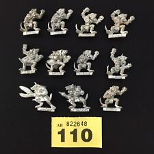GAMES WORKSHOP CITADEL MINIATURES BLOOD BOWL SKAVEN MÉTAL ÉQUIPE