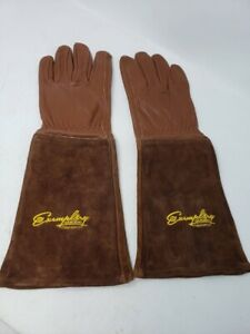 Rose Pruning Gloves for Men and Women. Thorn Proof Goatskin Leather  LARGE