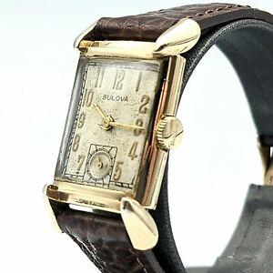 1948 BULOVA Director Wristwatch 21 Jewels Cal. 7AK 10K Gold Filled Watch