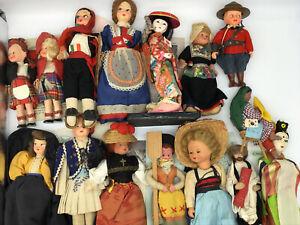 1950s WORLD WIDE DOLL CLUB Collection LOT Antique Vintage Figure 15 Assorted