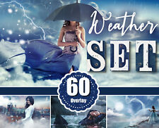 60 weather Photo Overlays clouds, lightning, sky effect overlay, png file
