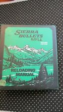 SIERRA BULLETS RELOADING MANUAL RIFLE 2nd edition  1978  with common pistol too