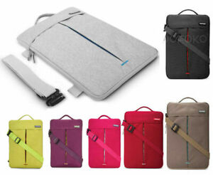 Waterproof Laptop PC Shoulder Bag Carrying Soft Notebook Case Cover Sleeve Pouch
