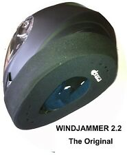 WINDJAMMER PROLINE, Helmet Wind Blocker for Motorcyclists (P&P Free Worldwide)